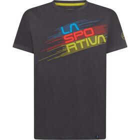 La Sportiva Stripe Evo T-Shirt Men carbon